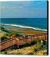 Rodanthe On The Outer Banks Canvas Print by Julie Dant