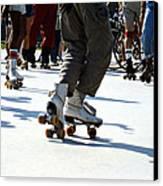 Roller Skates Canvas Print by Emanuel Tanjala