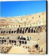 Rome Coliseum Canvas Print by Valentino Visentini