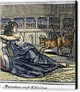 Rome: Perpetua & Felicitas Canvas Print by Granger