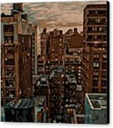 Rooftop Color 16 Canvas Print by Scott Kelley