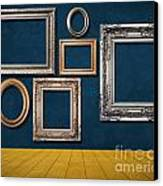 Room With Frames Canvas Print by Atiketta Sangasaeng