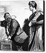 Roosevelt Cartoon, C1916 Canvas Print by Granger