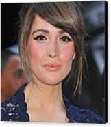 Rose Byrne At Arrivals For X-men First Canvas Print by Everett