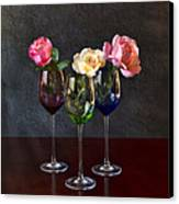Rose Colored Glasses Canvas Print by Peter Chilelli