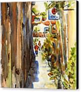 Royal Dane Mall Canvas Print by Pat Katz