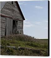 Rustic Barn Still Standing Canvas Print by Wilma  Birdwell