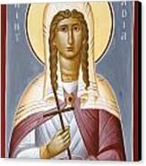 Saint Nadia - Hope Canvas Print by Julia Bridget Hayes