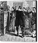 Salem Witch Trials, 1692-93 Canvas Print by Photo Researchers