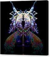 Samurai Bug Plant Canvas Print by David Kleinsasser