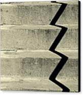 San Andreas Stairs Canvas Print by Joe Jake Pratt