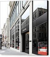 San Francisco - Maiden Lane - Prada Italian Fashion Store - 5d17800 Canvas Print by Wingsdomain Art and Photography