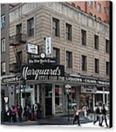 San Francisco Marquards Little Cigar Store Powell Street - 5d17950 Canvas Print by Wingsdomain Art and Photography