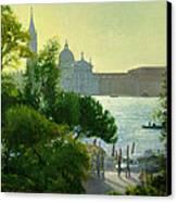 San Giorgio - Venice  Canvas Print by Timothy Easton