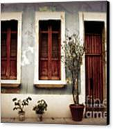 San Juan Living Canvas Print by Perry Webster