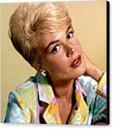 Sandra Dee, Ca. Early 1960s Canvas Print by Everett
