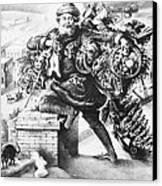 Santa Claus Canvas Print by Granger