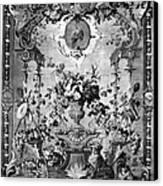 Savonnerie Panel C1800 Canvas Print by Granger