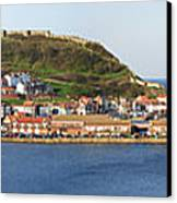 Scarborough Panorama Canvas Print by Jane Rix