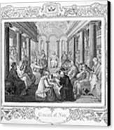 Second Council Of Nicaea Canvas Print by Granger