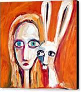 Seeking Canvas Print by Leanne Wilkes