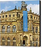 Semper Opera House Dresden Canvas Print by Christine Till