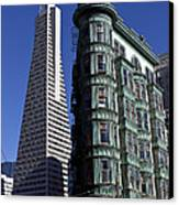 Sentinel Building San Francisco Canvas Print by Garry Gay