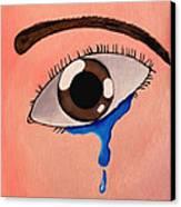 Separation Canvas Print by Darren Stein