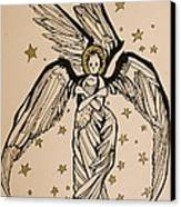 Seraphim Canvas Print by Jackie Rock
