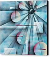 Shades Of Fibonacci Canvas Print by Hakon Soreide