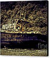 Shipwreck Canvas Print by Tom Prendergast