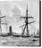 Shipwrecks, 1875 Canvas Print by Granger