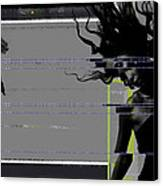 Shuttered Glass Canvas Print by Naxart Studio