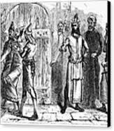 Siege Of Baghdad, 1258 Canvas Print by Granger