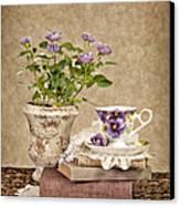 Simple Pleasures Canvas Print by Cheryl Davis