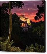 Sintra Palace Canvas Print by Carlos Caetano