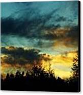 Sky Attitude Canvas Print by Aimelle