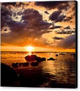 Skyfire Canvas Print by Jason Naudi Photography