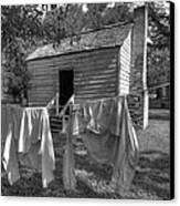 Slave's Quarters Canvas Print by Bourbon  Street