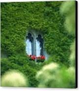 Sleeping Beautys Castle -- Dornroeschens Schloss Canvas Print by Arthur V Kuhrmeier