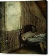 Sleepless Prayers  Canvas Print by Jerry Cordeiro