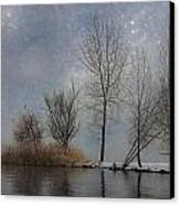 Snowfall Canvas Print by Joana Kruse