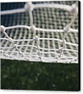 Soccer Net Canvas Print by Paul Edmondson