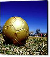 Soccer Season Starts Canvas Print by Scout J Photography