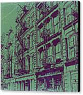 Soho New York Canvas Print by Naxart Studio