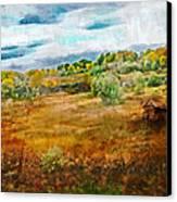 Somewhere In September Canvas Print by Brett Pfister