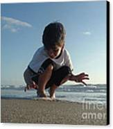 Son Of The Beach Canvas Print by Jack Norton