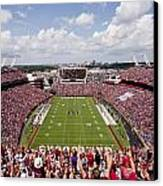 South Carolina View From The Endzone At Williams Brice Stadium Canvas Print by Replay Photos