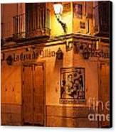Spanish Taberna Canvas Print by John Greim