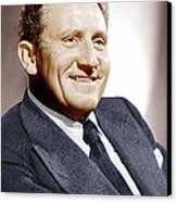 Spencer Tracy, Ca. 1940s Canvas Print by Everett